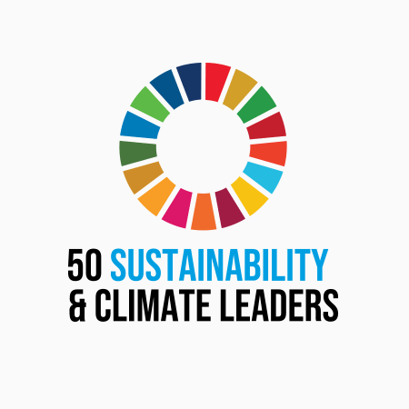 """<h3 align=""""center""""><span style=""""color: #818e61;"""">50 Climate Leaders</span></h3>"""